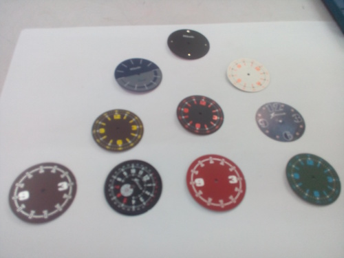 Customize Wrist Watch Dials