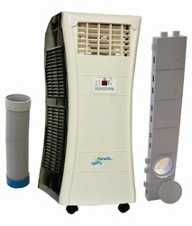 Tower mobile air conditioners