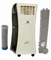 Wheel door air conditioners