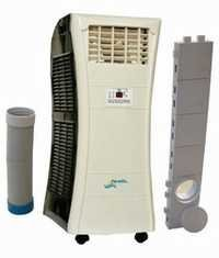 Wheel air conditioners