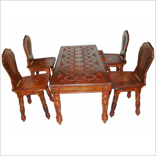 "Square Table 48""*24"" with four chairs"