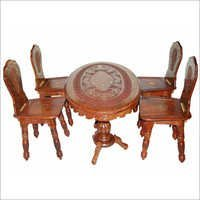 Oval table set 48