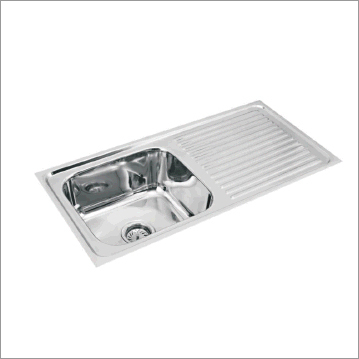 Single Bowl Single Drain Board