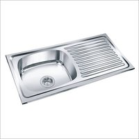 Stainless Steel Sink with Drainboard