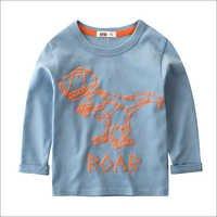 Blue Roar Print Full Sleeves T-Shirt