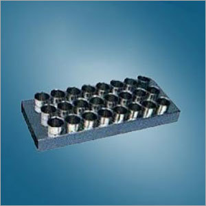 SS Milk Sample Bottle Tray