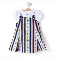 Classic Flowers Printed Cotton Dress