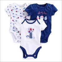 Half Sleeves Onesies - Pack of 3