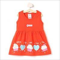 Sleeveless Red Casual Dress