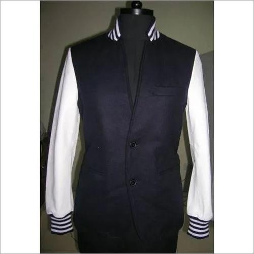 Coat Style Varsity Jacket