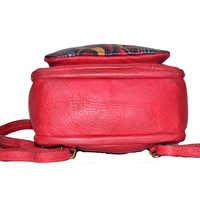 Shankar Produce Hand Painted Leather Bag