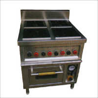 Four Burner Continental Gas Range With Oven