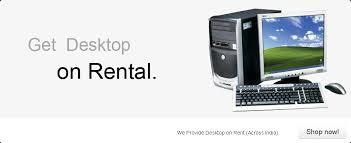 Desktop PC on Hire Service