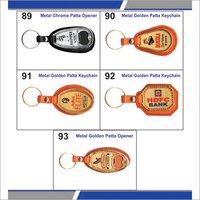 metal patta keychains