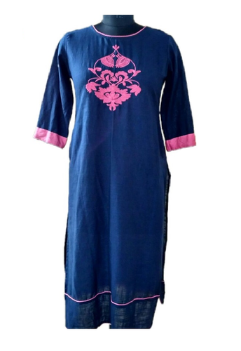 Front Embroidered Kurti