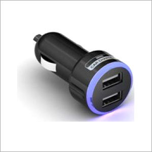 Dual USB Car Charger 5V 3.1A_black  only