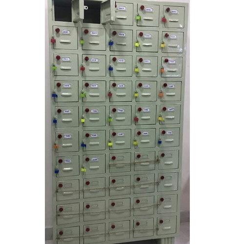 Mobile Locker Rack