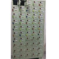 Mobile Locker Rack