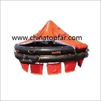 Throw Overboard Inflatable Liferaft