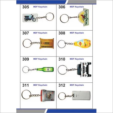 MDF keychains