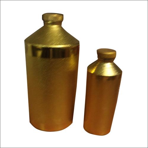 50-Tola, 10 Tola Aluminium Gold Perfume Bottle