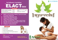 Ayurvedic & Herbs Medicine For Breast milk - Elact Tablet