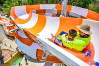 Family Float water slides - Open and closed