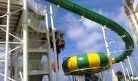Float tornado slide