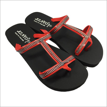 Ladies Fancy Flip Flops