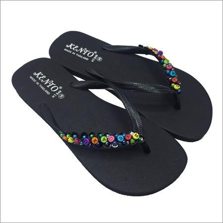 Ladies Flat Flip Flops