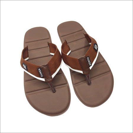 Men's Brown Flip Flop