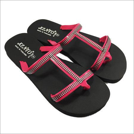 Men's KT Pink Flip Flops