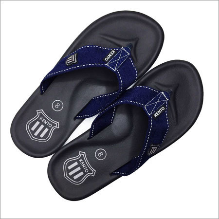 Men's MC Dark Blue Flip Flops