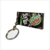 Cold Drink Promotional Key Chain