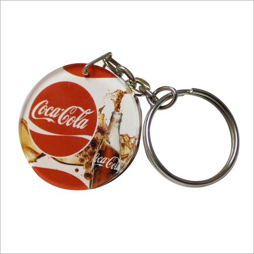 Customized Cold Drink Promotional Key Chain