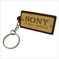 Designer Leather Keychain
