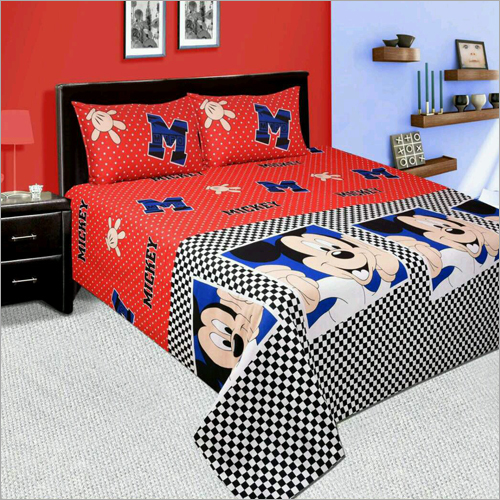 Mickey Mouse Bed Sheet
