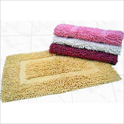 Chenille Bath Mat Rug
