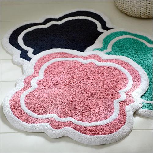 Chenille Border Bath Mat