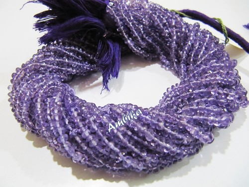 AA Quality Natural Amethyst Beads