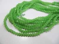 Hydro Quartz Green Chalcedony Beads