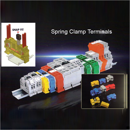 Spring Clamp Terminals