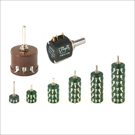 Single Turn, Multi Turn & Survo Potentometers