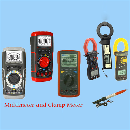 Multimeter and Clamp Meter