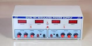 Dual Output DC Regulated Power Supply