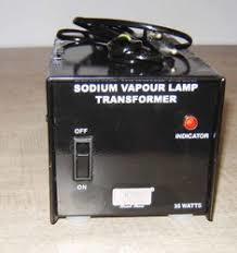 Sodium Vapor Lamp Transformer 35 watts.