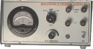 Millikan Power Supply