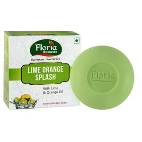 Lime Orange Splash Aromatherapy Soap