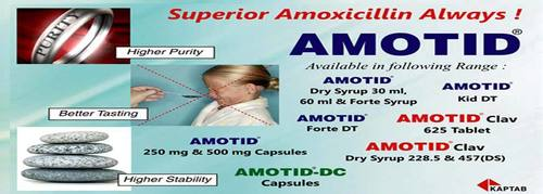 Amoxcillin 200mg + Clavulanate Pottasium
