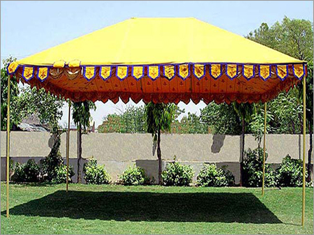 Wedding Raj Frame Tent